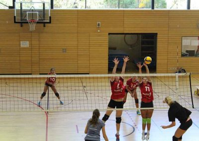 MTV-Volleyball Team in Action